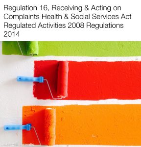 Regulation 16: All Complaints must be investigated.